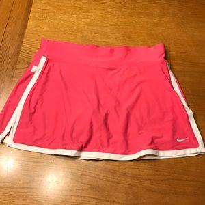 Pink Nike tennis skirt, M